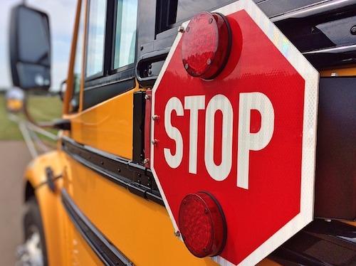 Child Pedestrian school bus